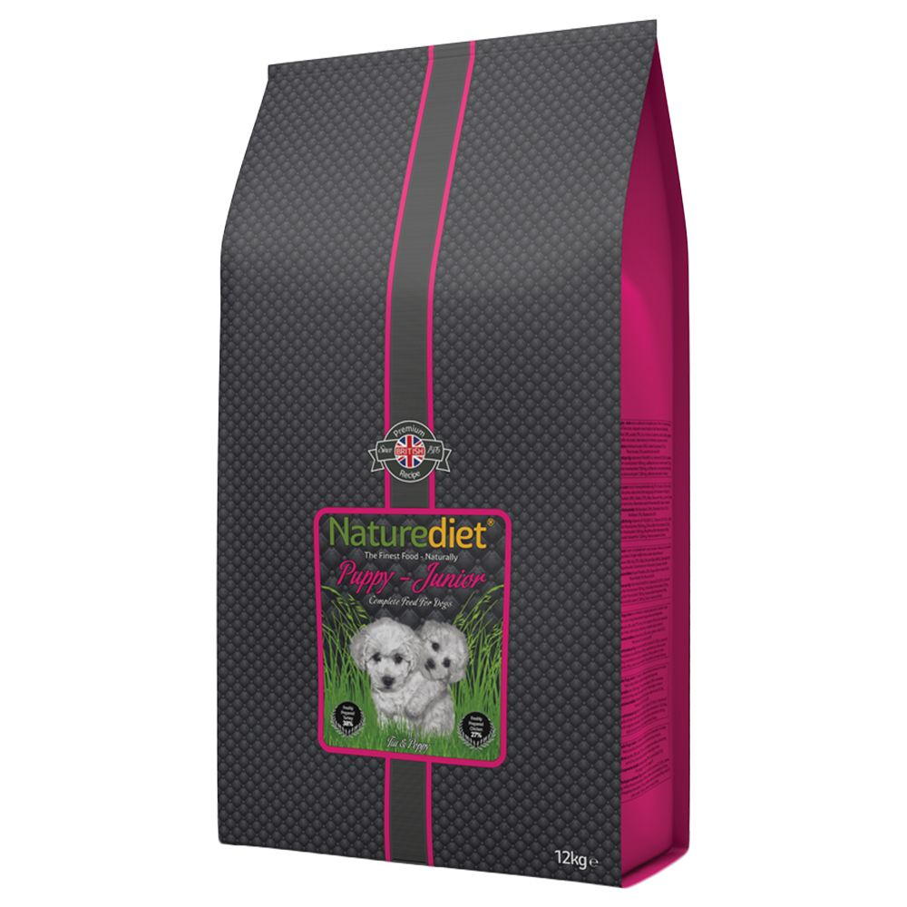 Naturediet Puppy/Junior - Economy Pack: 2 x 12kg