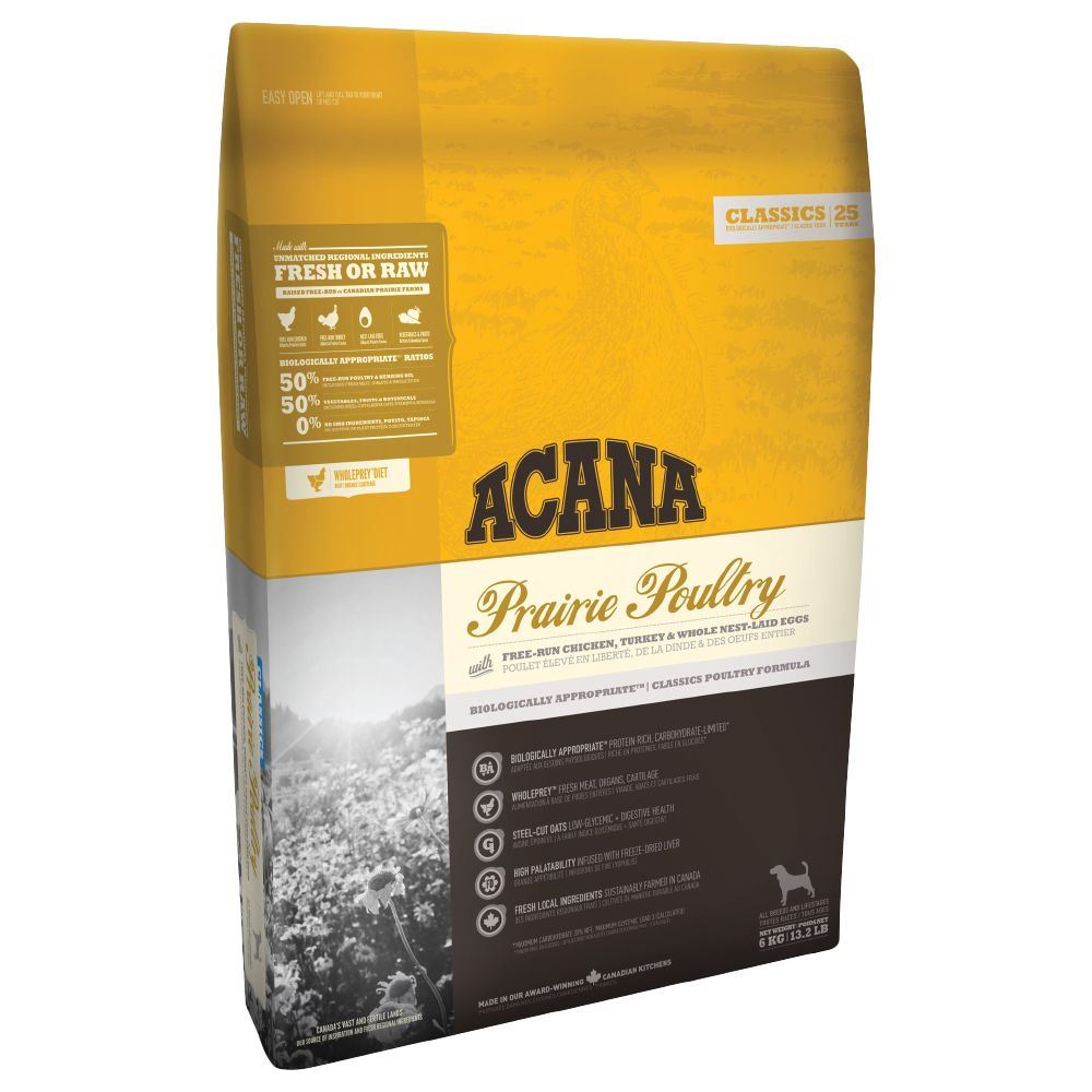 Acana Prairie Poultry Dry Dog Food