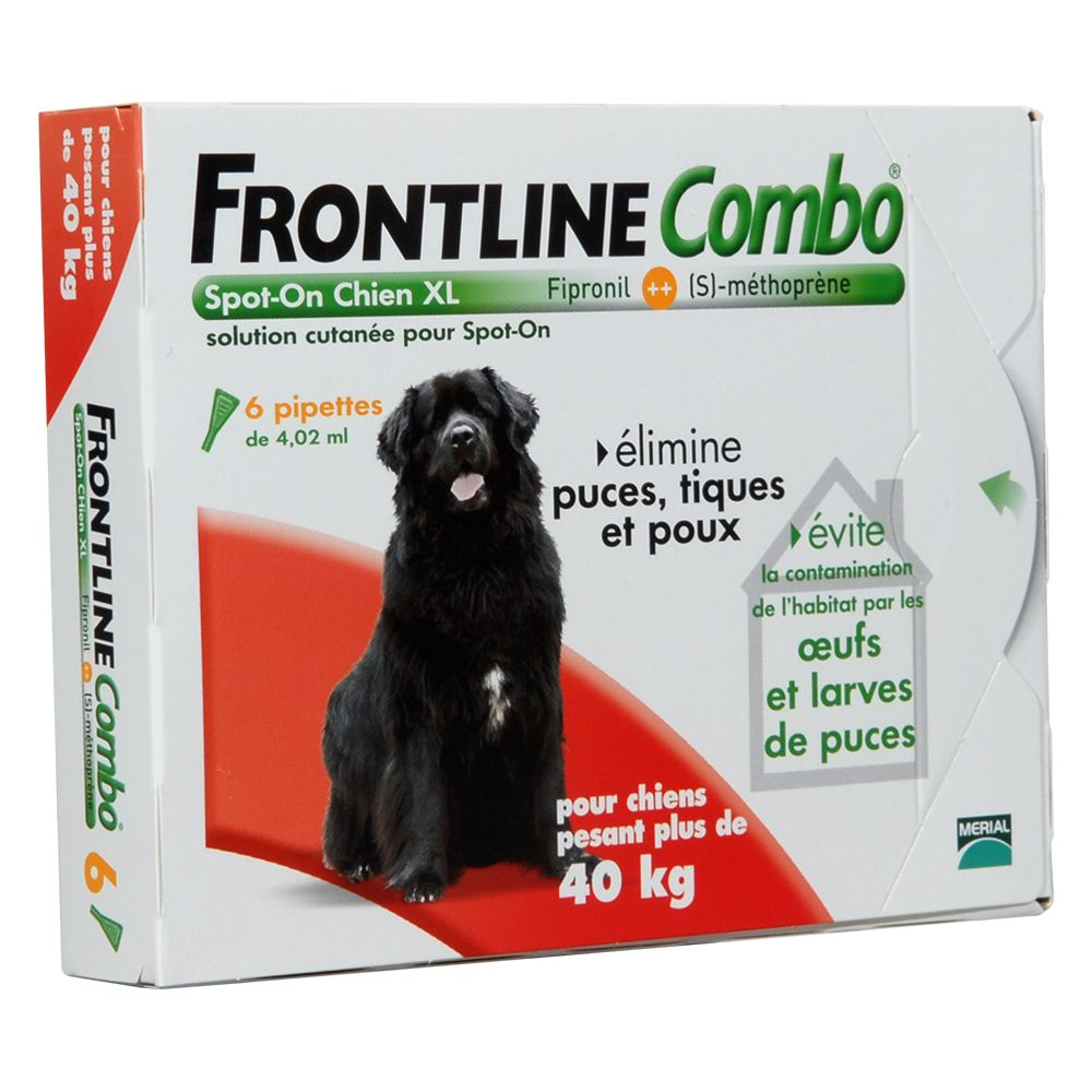 Chien Antiparasitaires Frontline Frontline Combo