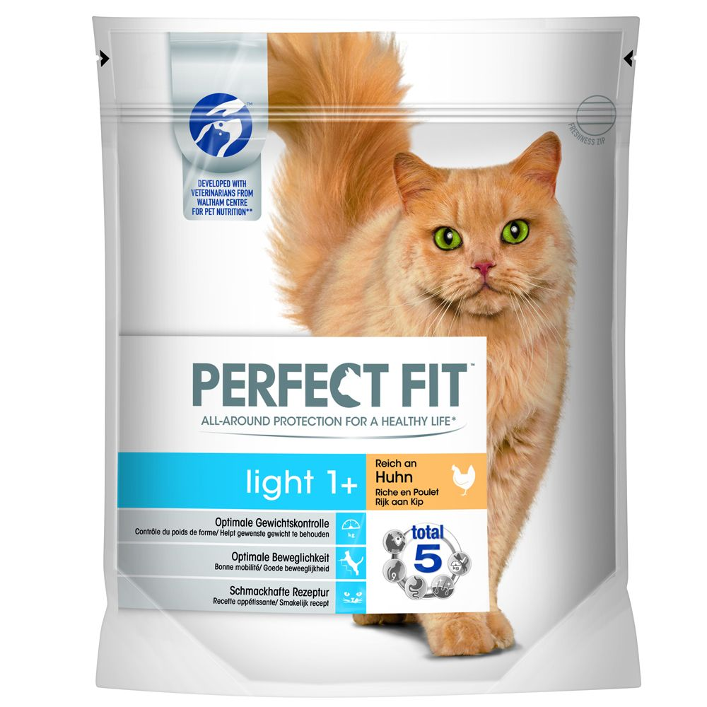 Perfect Fit Light 1+ Rich in Chicken - Economy Pack: 3 x 750g