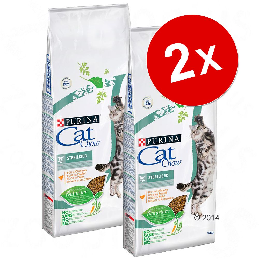 2x15kg Adult Special Care Urinary Tract Health Cat Chow PURINA - Croquettes pour chat