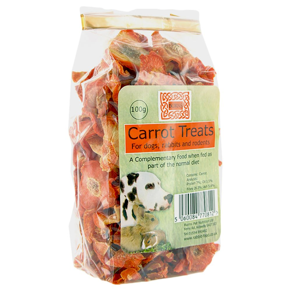 Burns Dried Carrot Slices Dog Treats