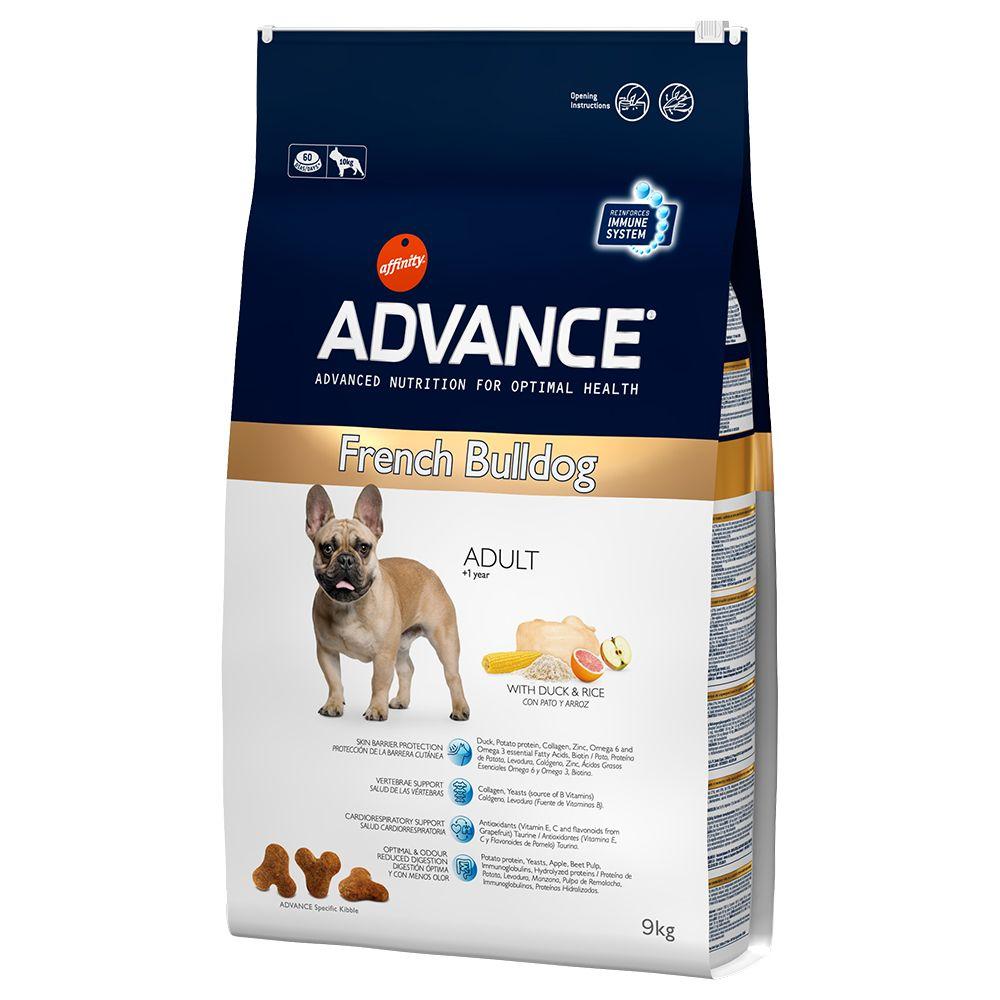 Advance French Bulldog pour chien - 9 kg