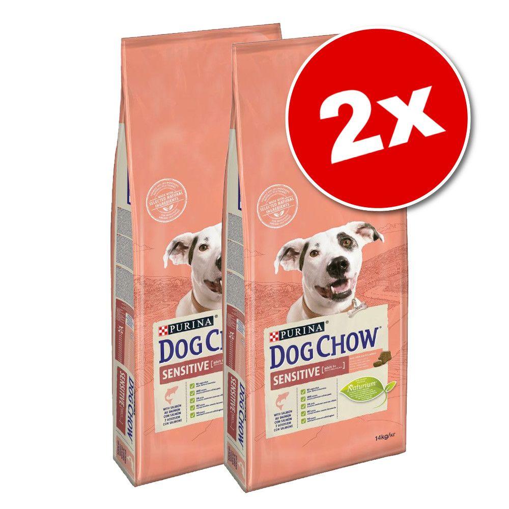 2x14kg PURINA Dog Chow Adult, agneau - Croquettes pour chien