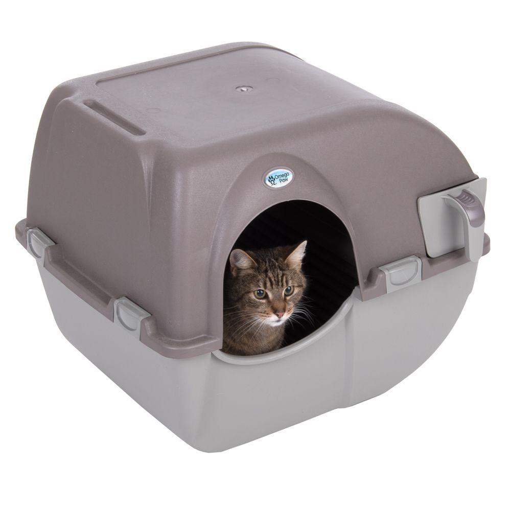 Chat Maison de toilette bac à litière Sans filtre Les classiques