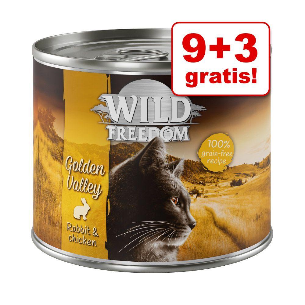 9 + 3 gratis! Wild Freedom, 12 x 200 | 400 g - Pakiet mieszany, 12 x 400 g