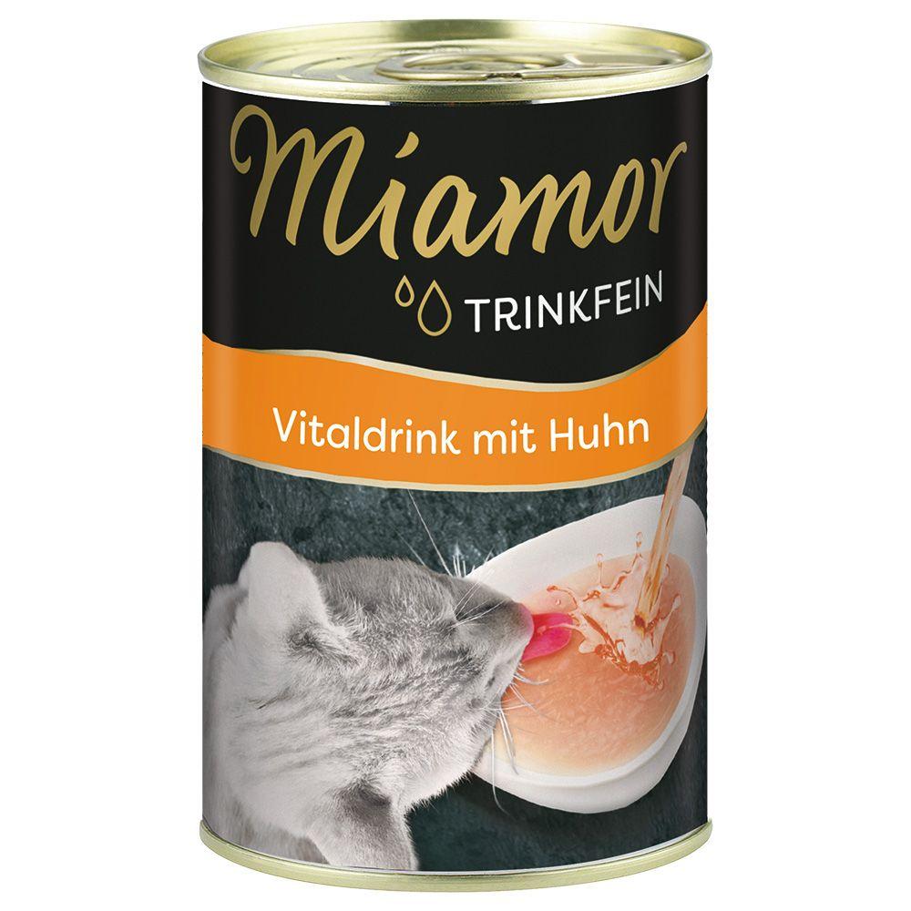 Miamor Trinkfein Vitaldrink 6 x 135 ml - Huhn