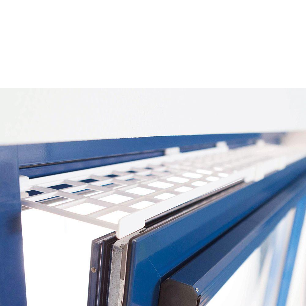 Trixie skyddsgaller för pivotfönster, ovansida/undersida, utdragbart - L 75?125 × B 16 cm