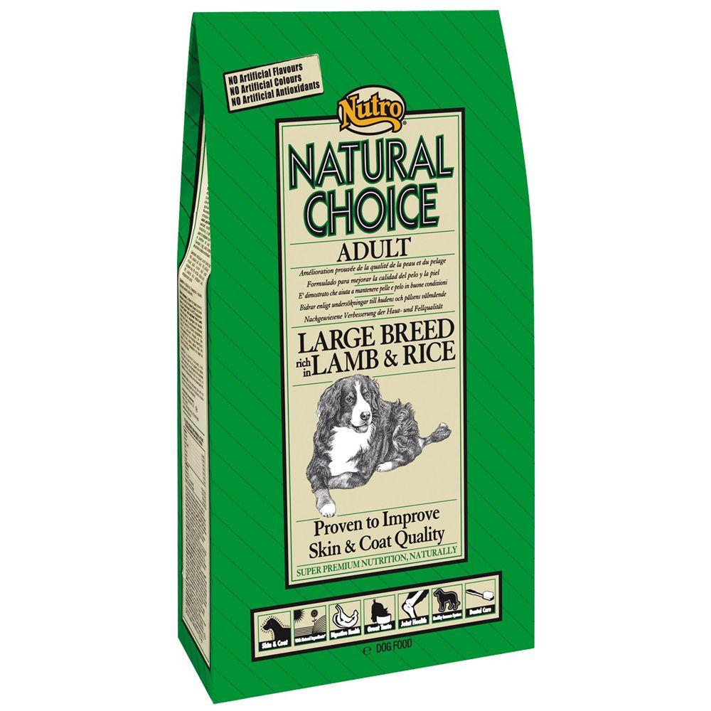 Nutro Choice Adult Large Breed Lamm & Reis - 15 kg