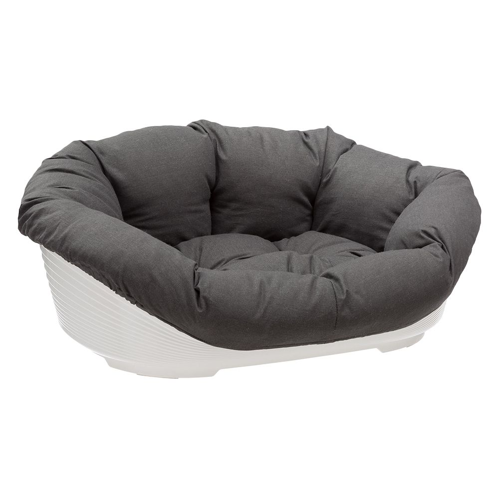 Ferplast Sofa Dog Den with Cover Anthracite