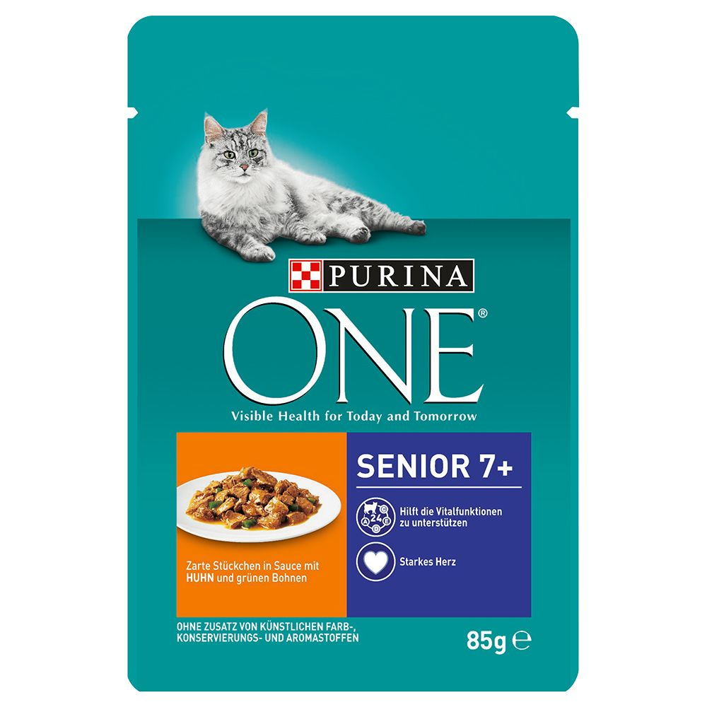 Chicken Senior 7+ ONE Purina Wet Cat Food