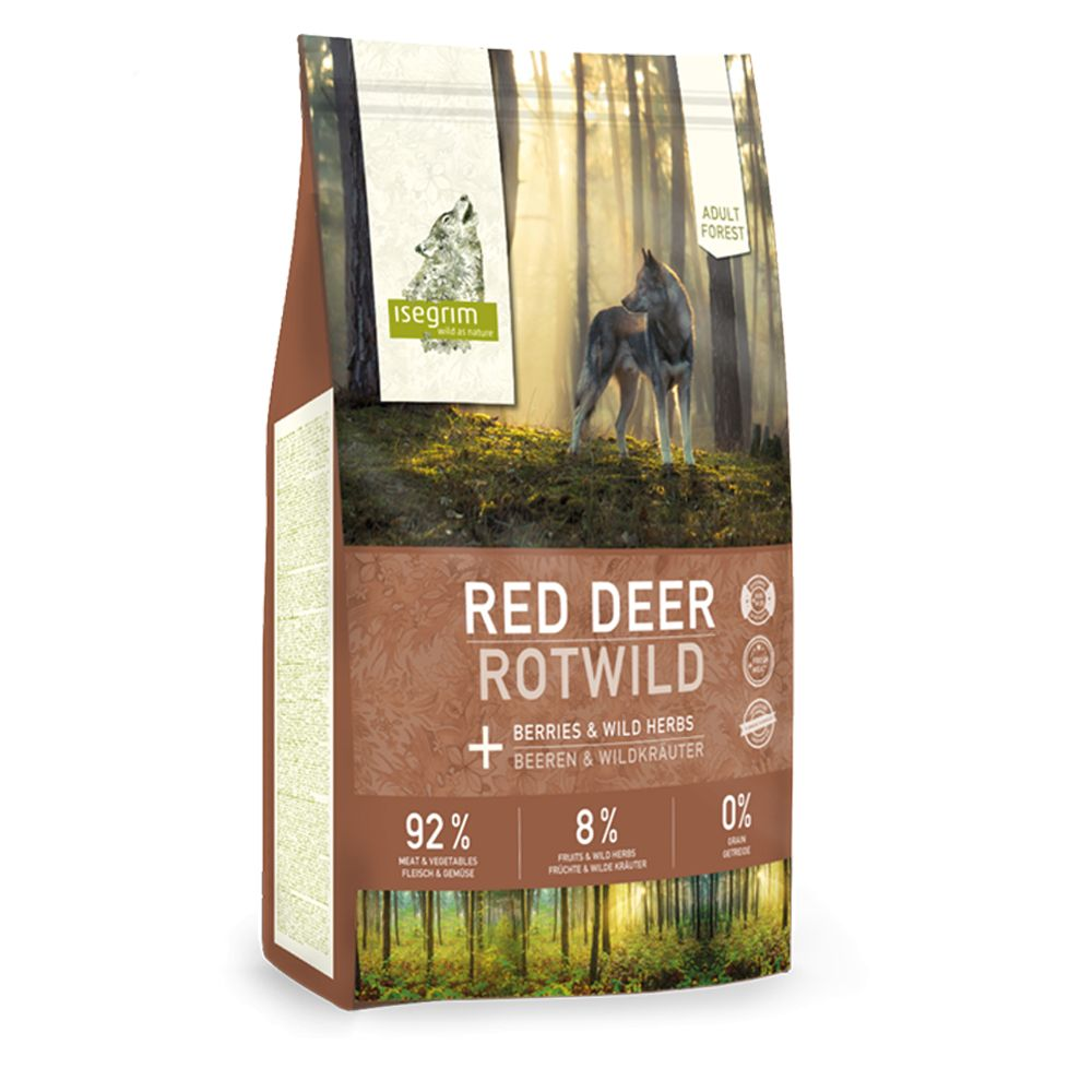 Isegrim Adult Forest Red Deer with Berries & Wild Herbs