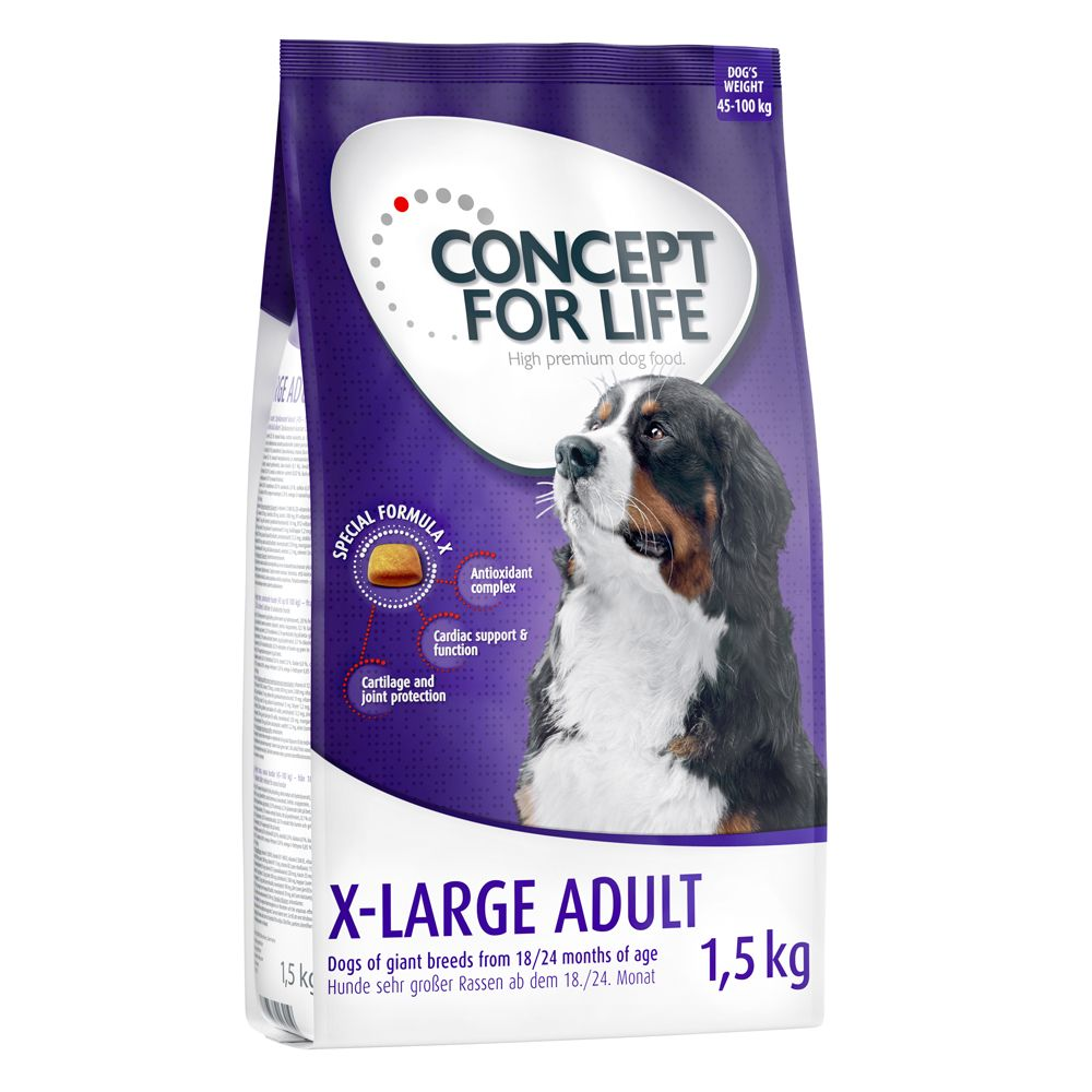 1.5kg Concept for Life Dry Dog Food