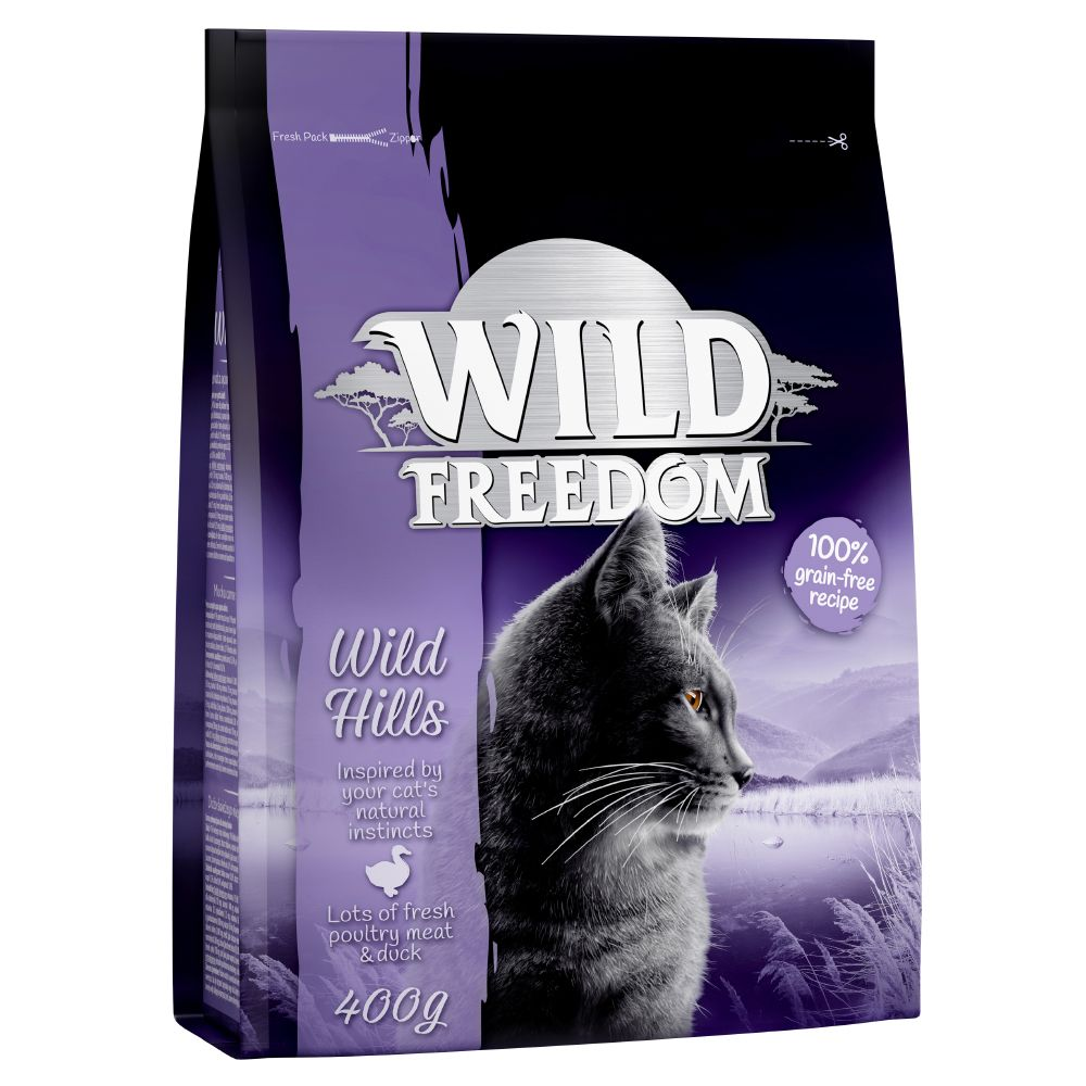 Duck Wild Hills Adult Wild Freedom Dry Cat Food