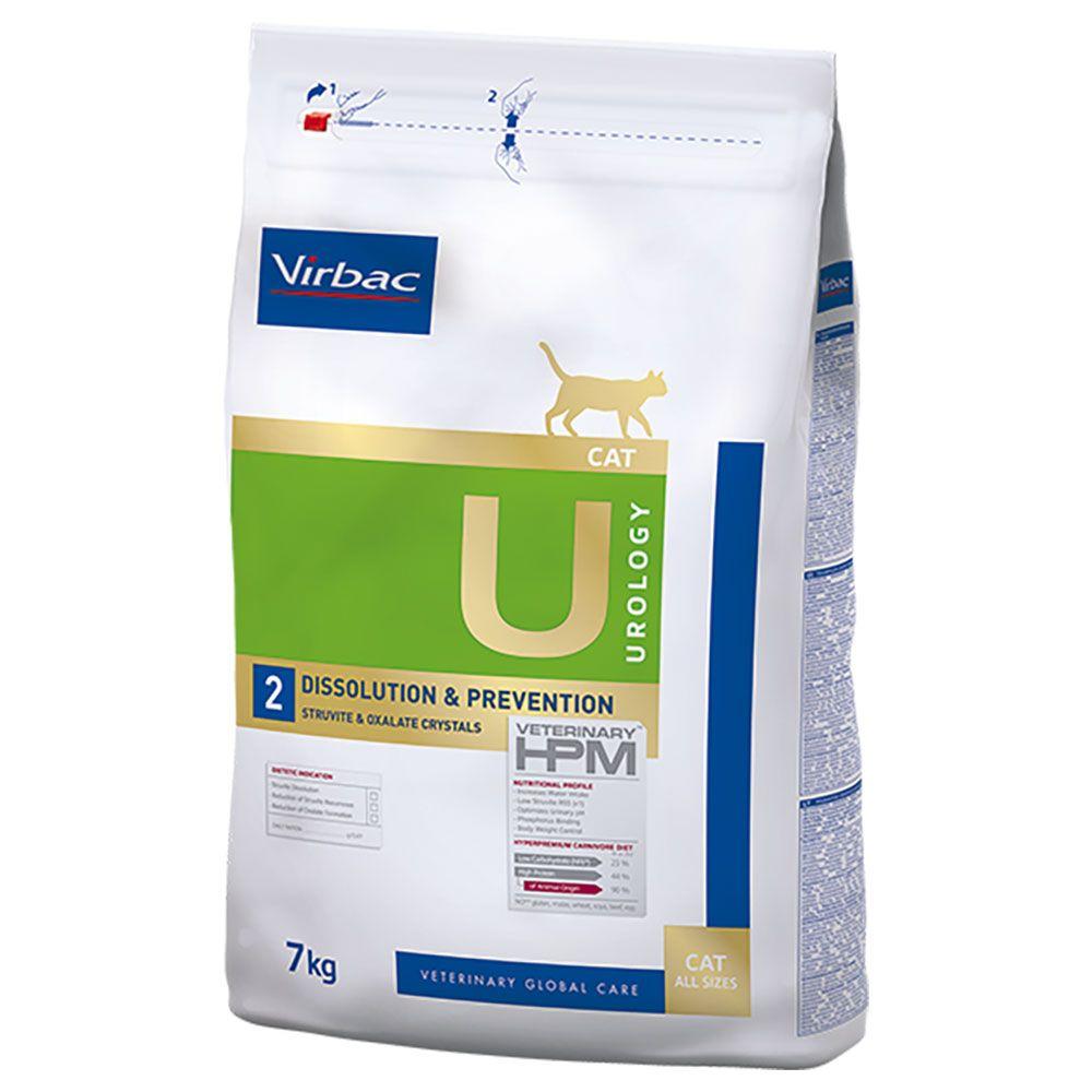 Virbac Veterinary HPM Cat Urology Dissolution & Prevention U2 - 7 kg
