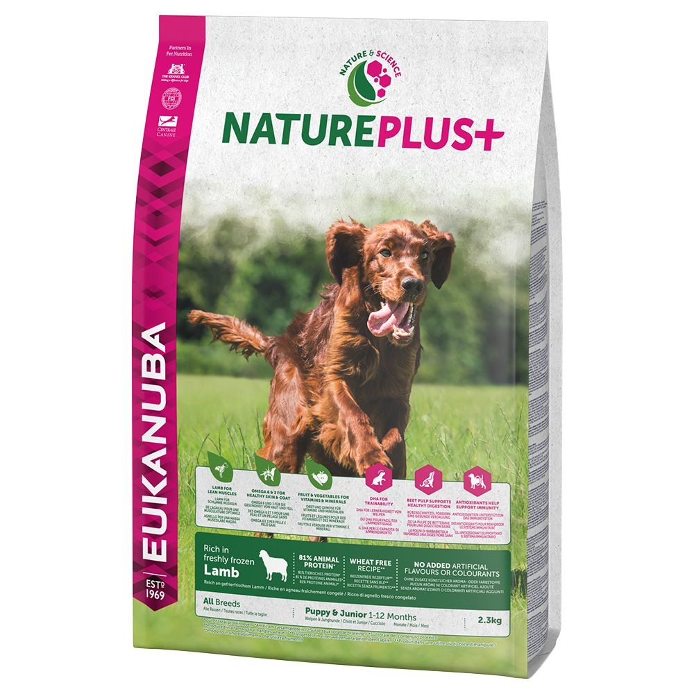 Eukanuba NaturePlus+ Puppy Lamb