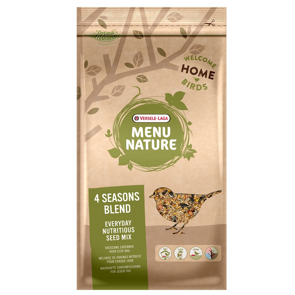20kg Four Seasons Mix Menu Nature Wild Bird Feed