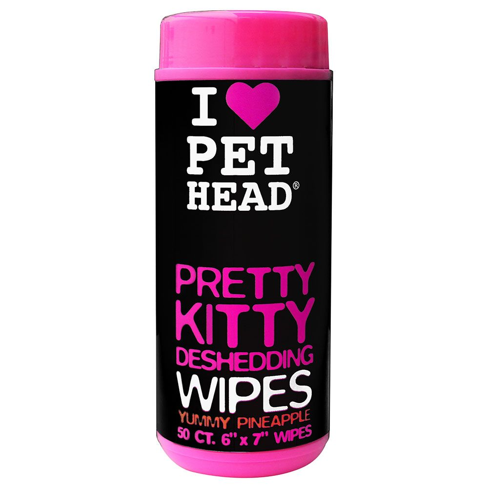 Bilde av Pet Head Pretty Kitty Wipes - 50 Stk Pineapple De Shed Wipes