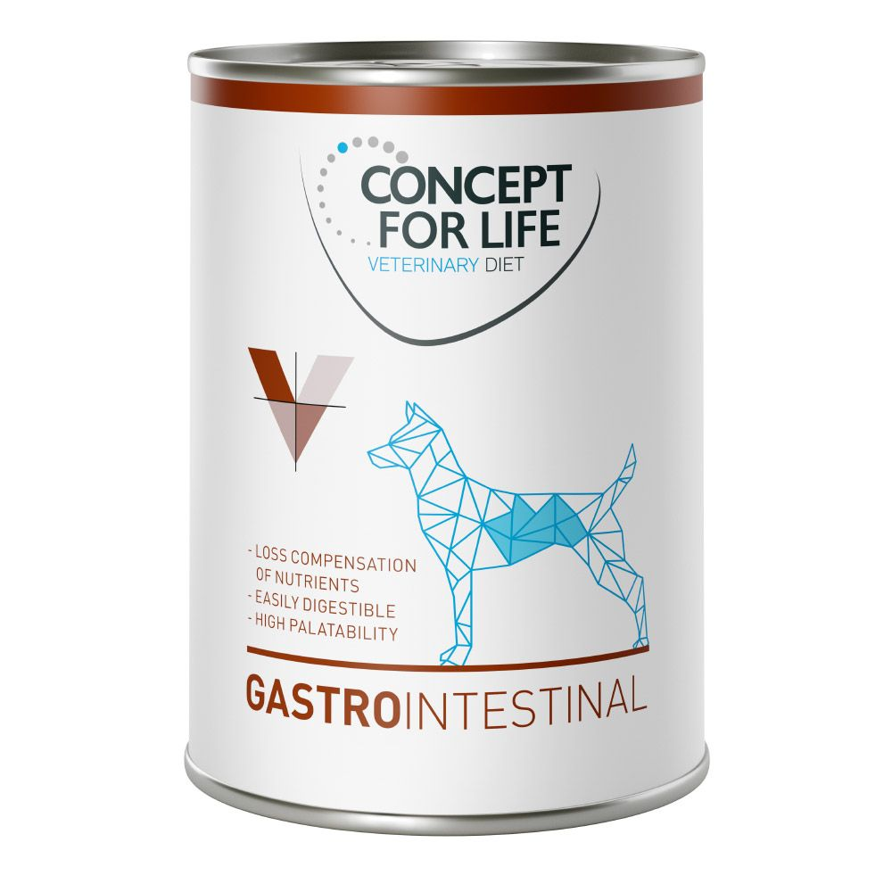 Gastro Intestinal Concept for Life Veterinary Wet Dog Food