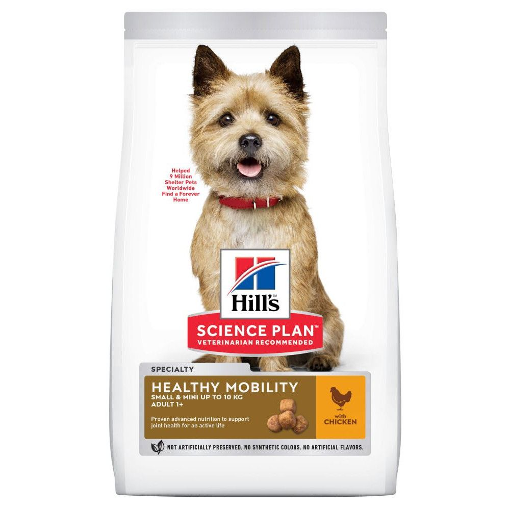 6kg Chicken Small & Mini Healthy Mobility Adult 1+ Hill's Science Plan Dry Dog Food