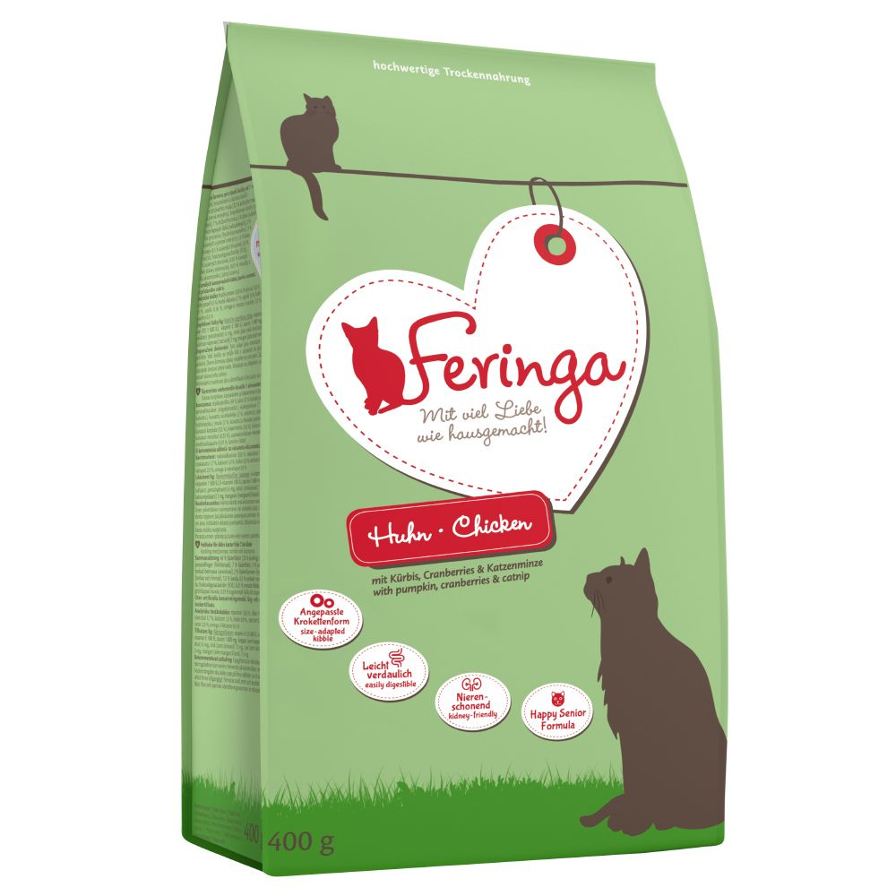 400g Feringa Senior Chicken Dry Cat Food
