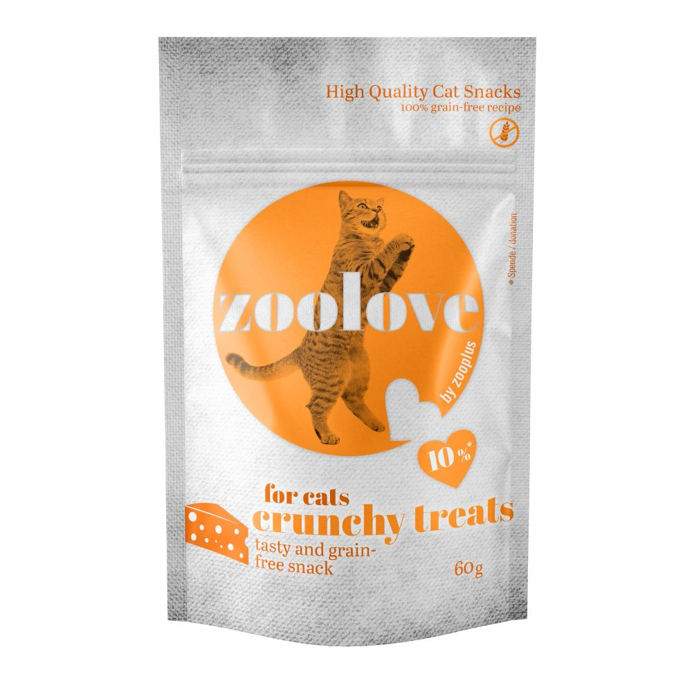 60g Cheese Crunchy Treats zoolove Cat Snacks