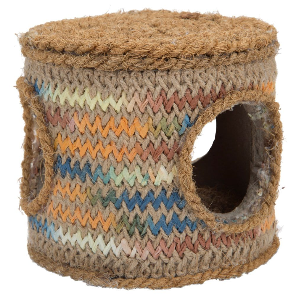 Karlie Coconut Rope Small Pet Barrel