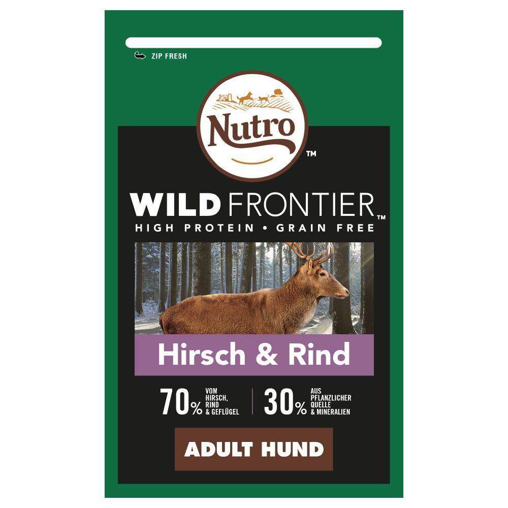 Nutro Wild Frontier Adult Deer & Beef - Ekonomipack: 2 x 12 kg