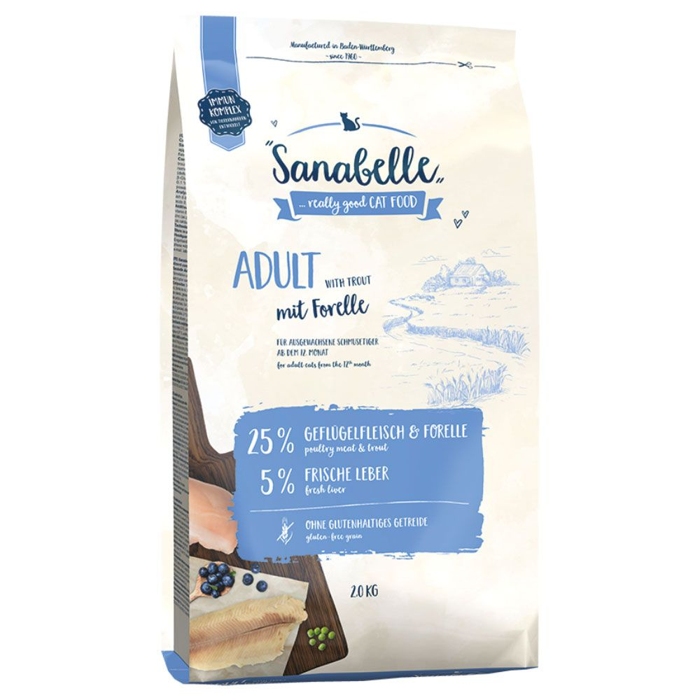 Sanabelle Adult mit Forelle - 10 kg