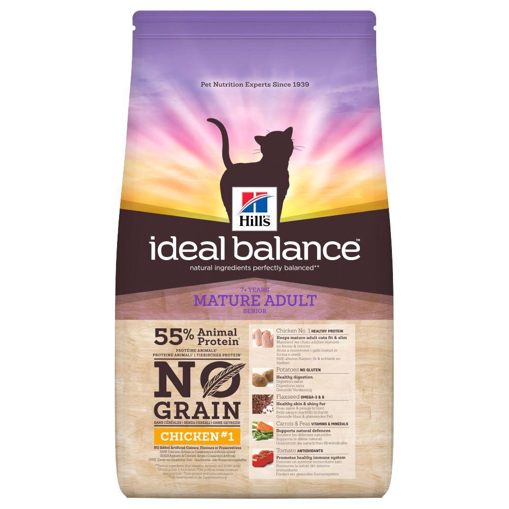 Hill's Ideal Balance Feline Mature No Grain Chicken & Potato