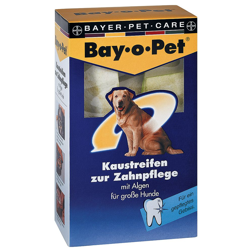 Bay-o-pet Dental Care Chew Strips - Large Dogs - Saver Pack: 2 x 140g