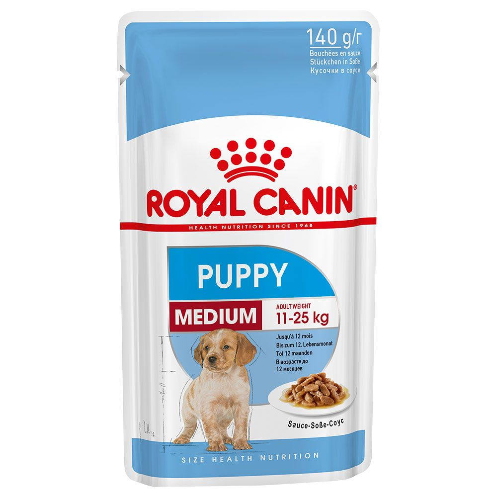 Puppy Medium Royal Canin Wet Dog Food