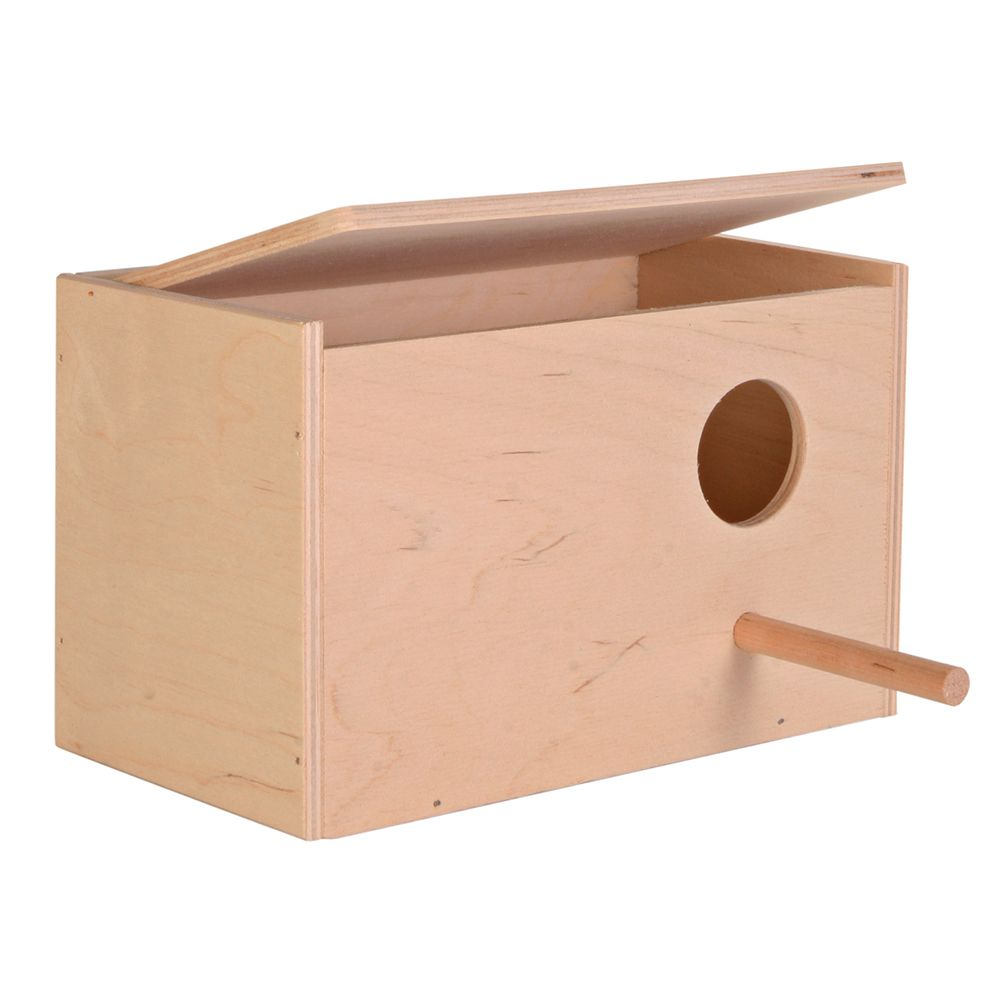 Nesting Box for Budgies - 30 x 20 x 20 cm (L x W x H)