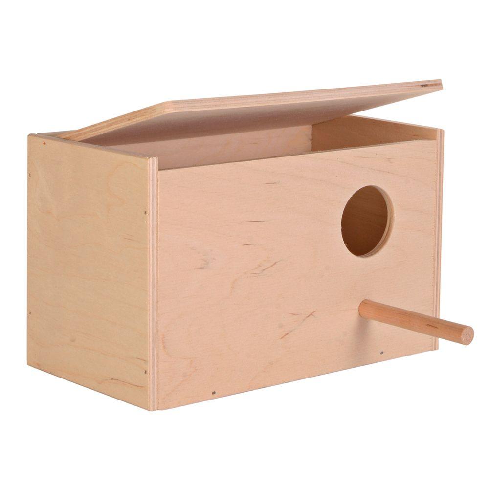 Trixie Nistkasten aus Holz - L 21 x B 13  x H 12 cm