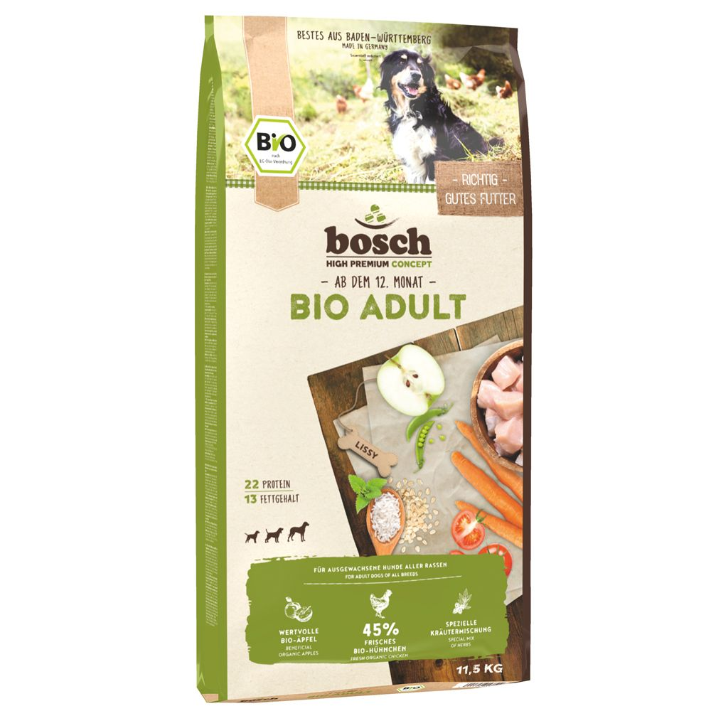 Bosch Organic Adult Dry Dog Food 11.5kg