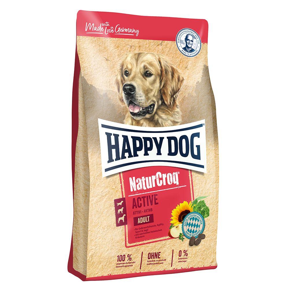 15kg Happy Dog NaturCroq Active - Croquettes pour chien