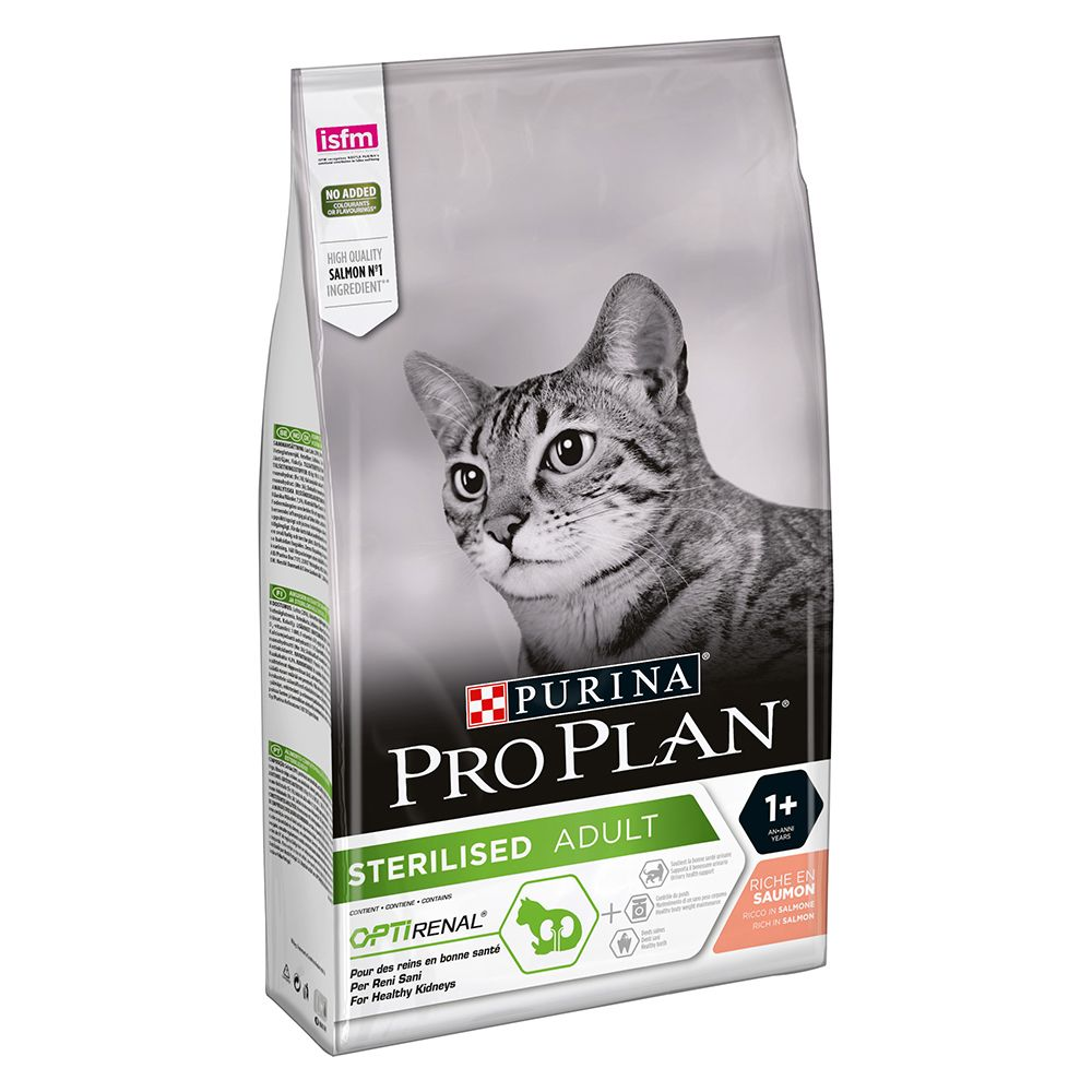 Purina Pro Plan Optirenal Sterilised Salmon Dry Cat Food
