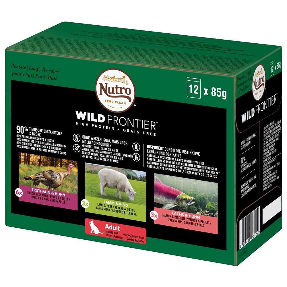 Mixed Pack Wild Frontier Nutro Wet Cat Food