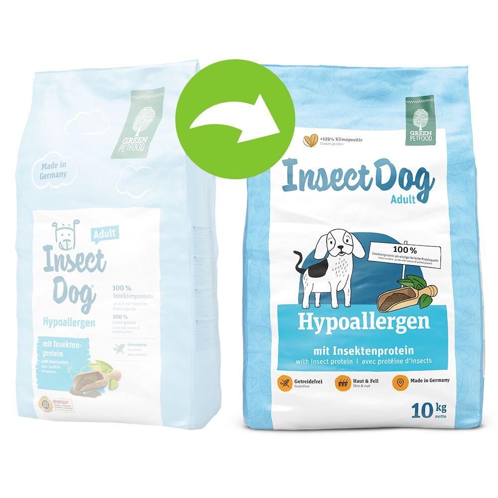 Green Petfood InsectDog hypoallergen - 4,5 kg (5 x 900 g)