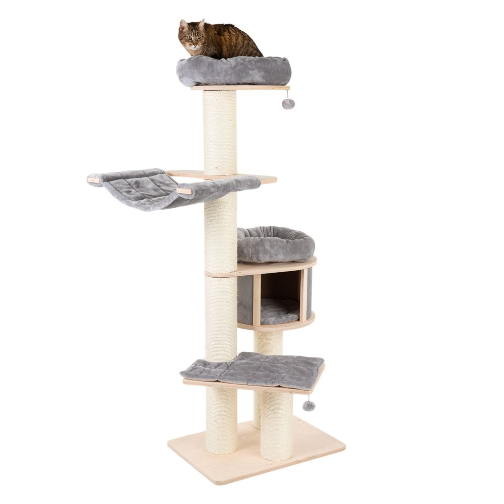 Natural Paradise Chocolate Cat Tree