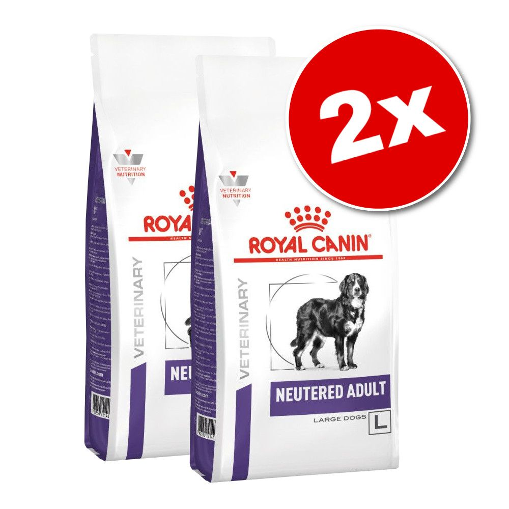 Lot Royal Canin Veterinary Neutered pour chien - Neutered Adult Medium Dog (2 x 9 kg)