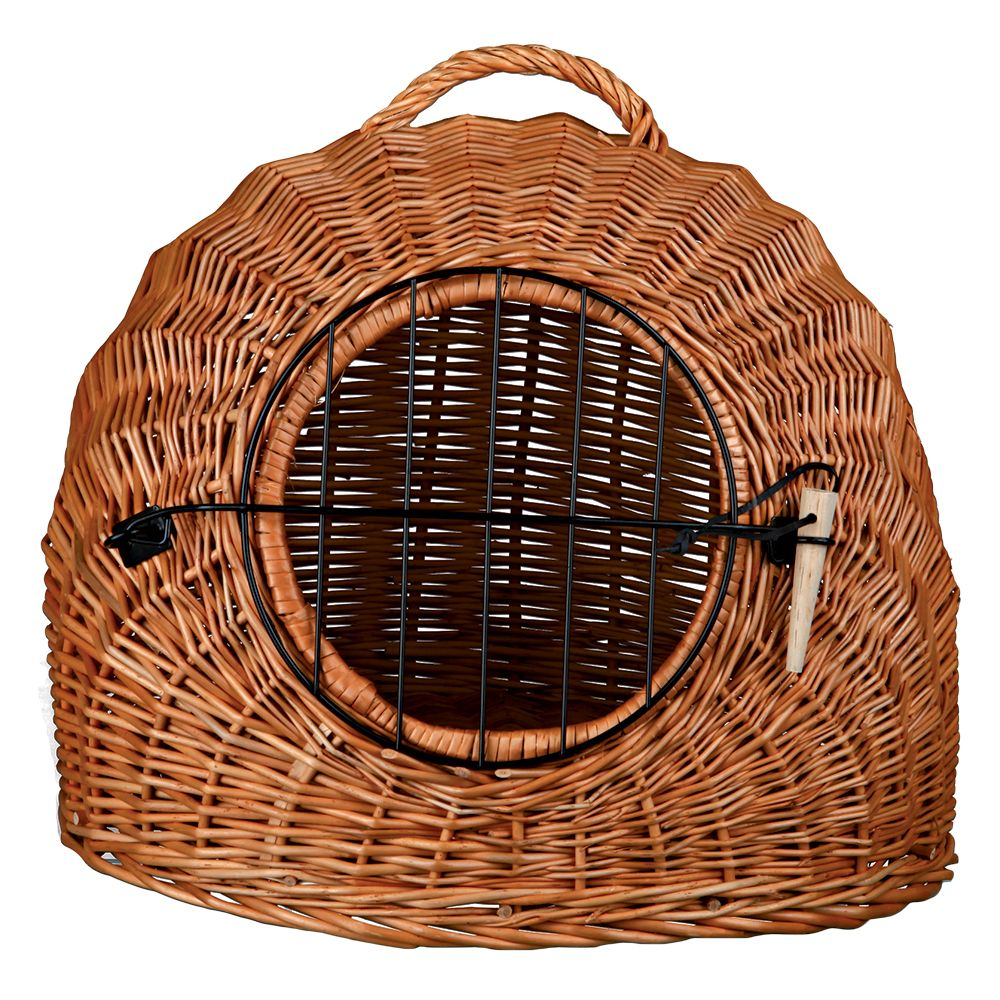 Trixie Wicker Cat Basket - 50 x 36 x 42cm (L x W x H)