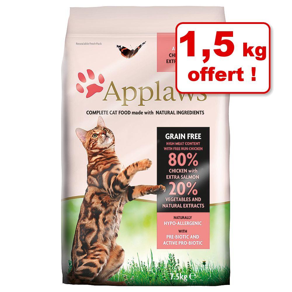 Croquettes Applaws pour chat 6 kg + 1,5 kg offert ! - pour chaton