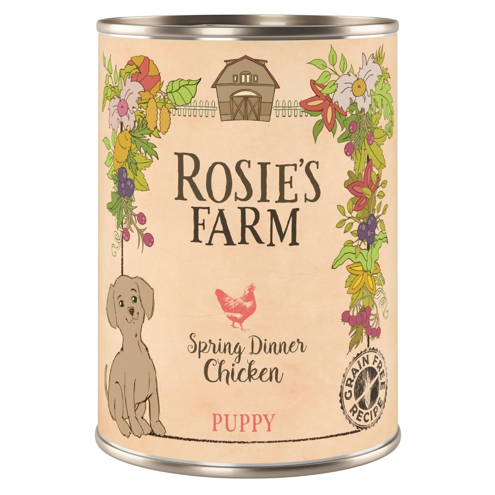 Chicken Puppy Wet Dog Food Rosie's Farm