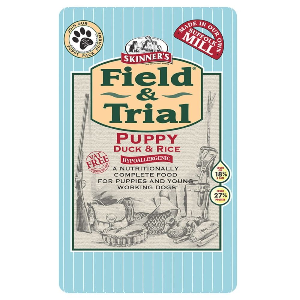 Duck & Rice Puppy Field & Trial Skinner's Dry Dog Food
