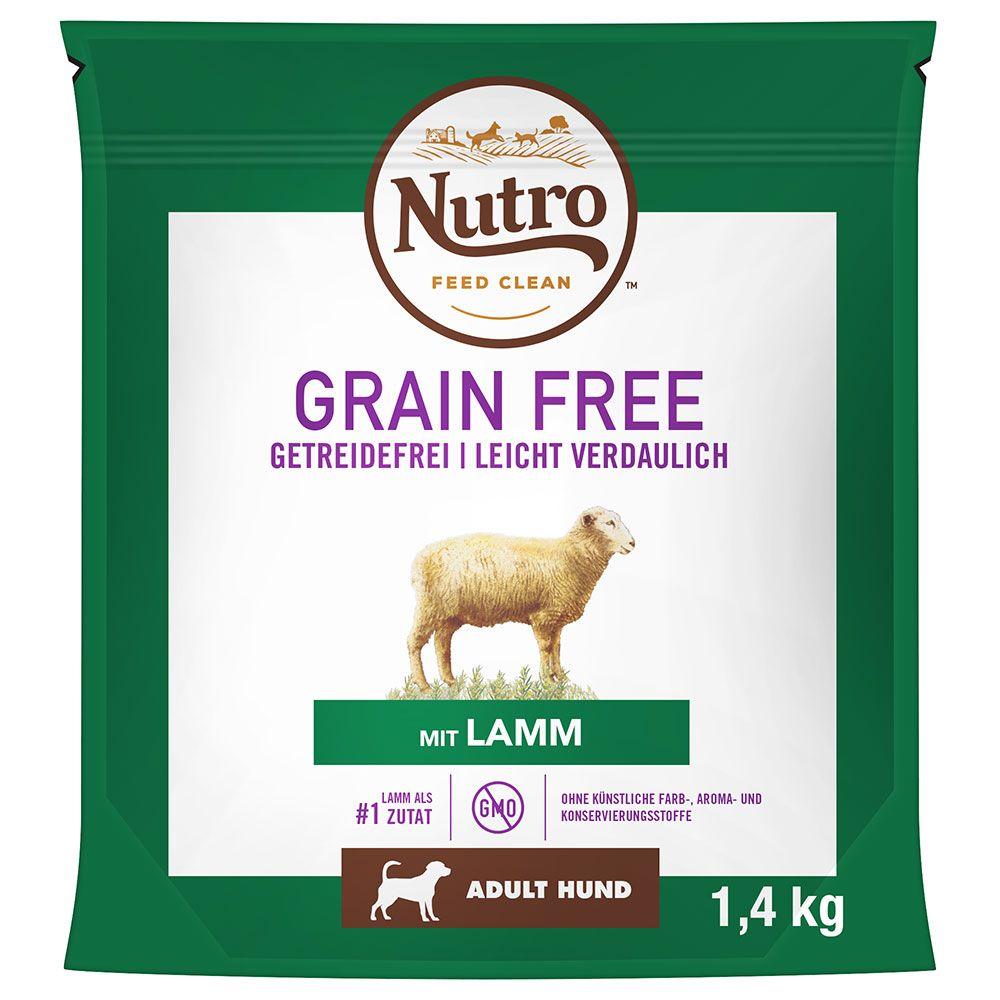 Nutro Dog Grain Free Adult Lamb - Ekonomipack: 2 x 14,5 kg