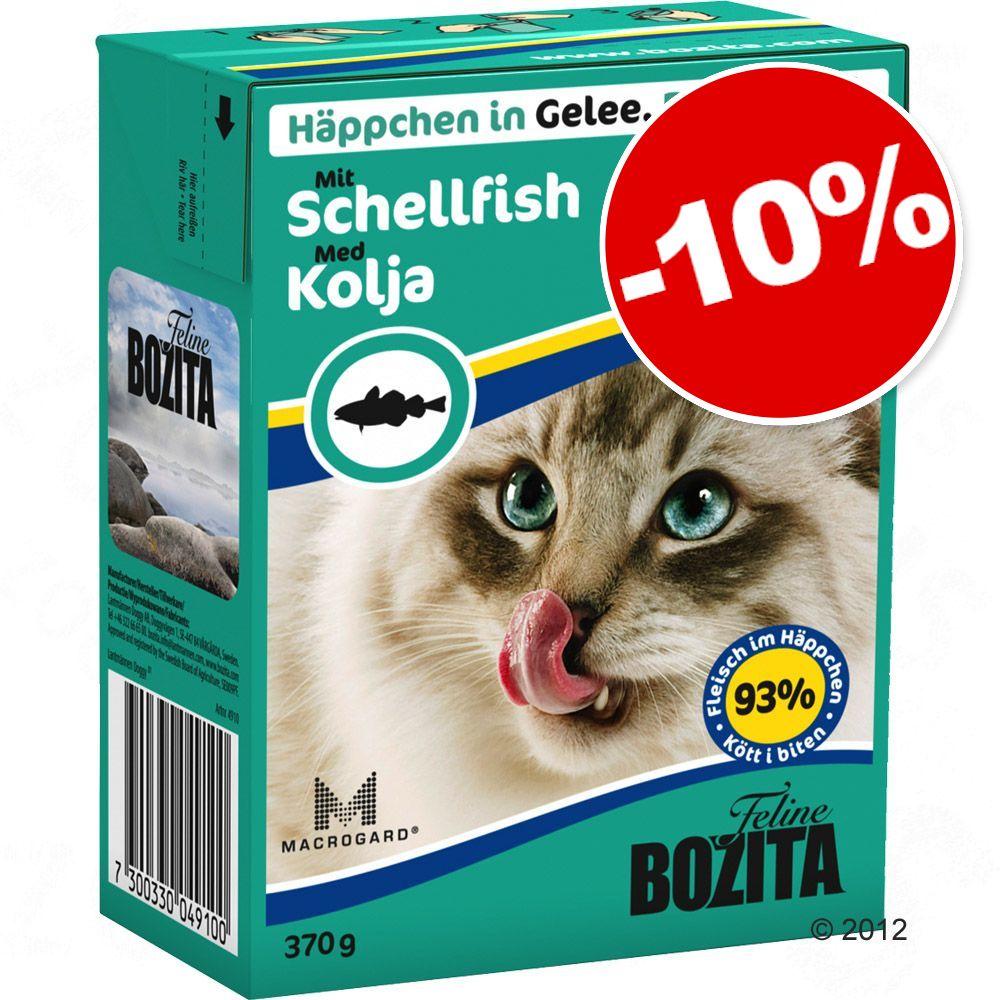 6x370g élan Bouchées en gelée Bozita - Nourriture pour Chat: 10 % de remise!
