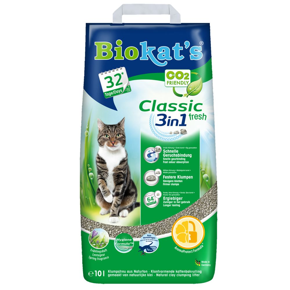 Biokat's Classic Fresh 3in1 18 l (papperspåse)