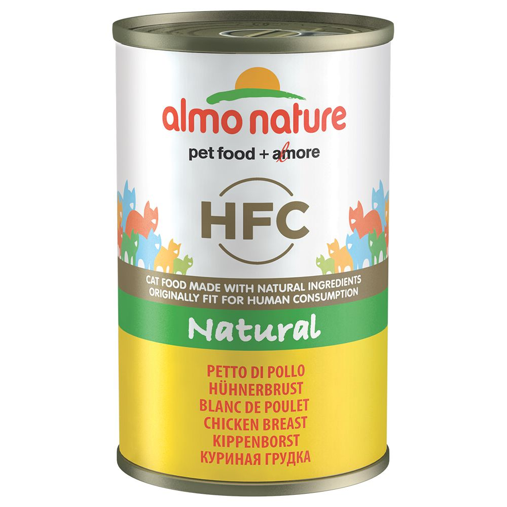 6x140g Tuna & Shrimp Almo Nature Classic Wet Cat Food