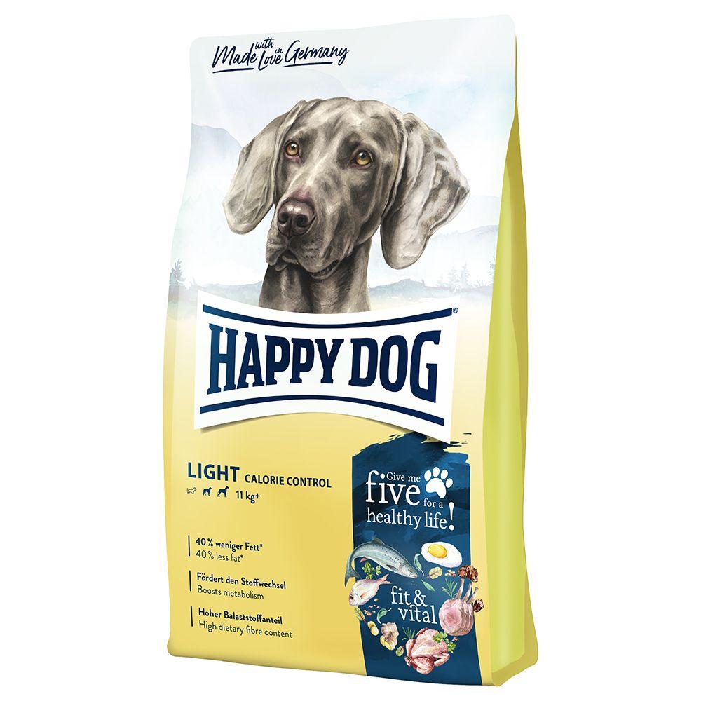 12kg Happy Dog Supreme fit & vital Light - Croquettes pour chien